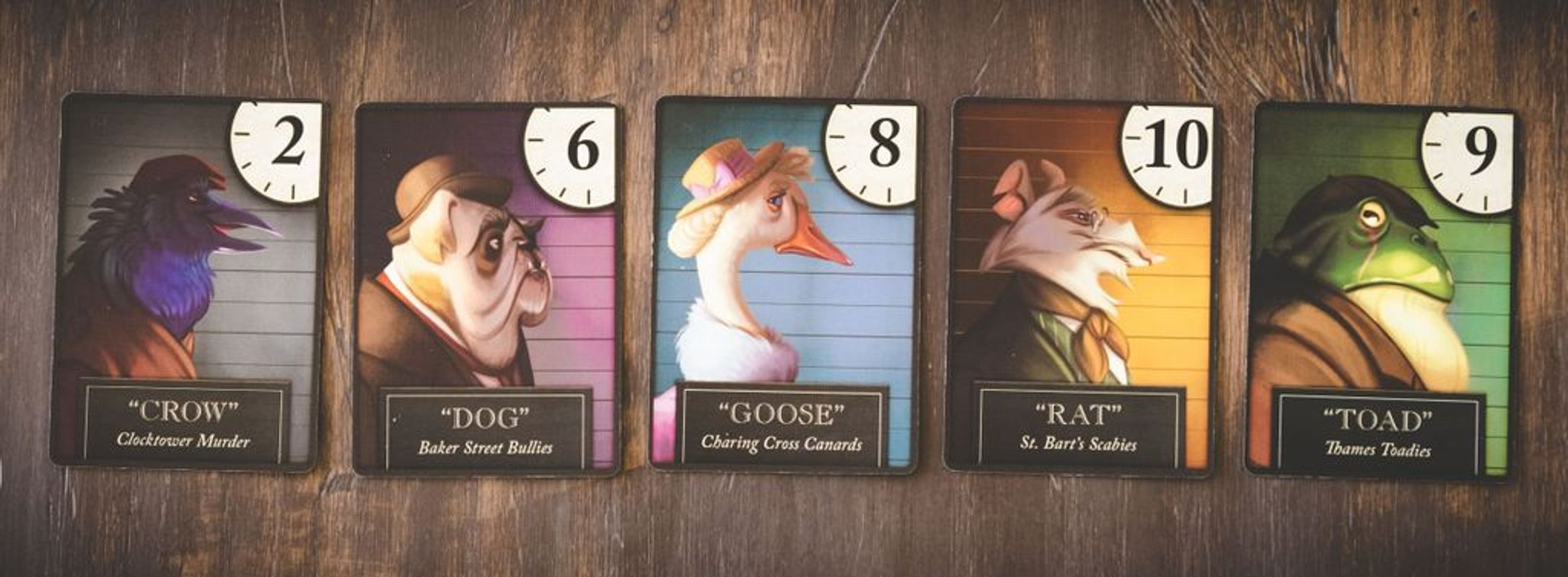 Purrrlock Holmes: Furriarty's Trail cards