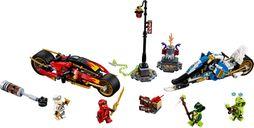Kai's Blade Cycle & Zane's Snowmobile components