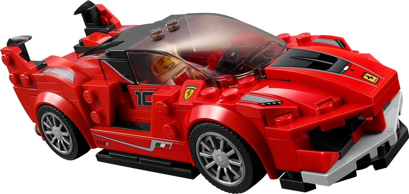 LEGO® Speed Champions Ferrari FXX K & Development Center components