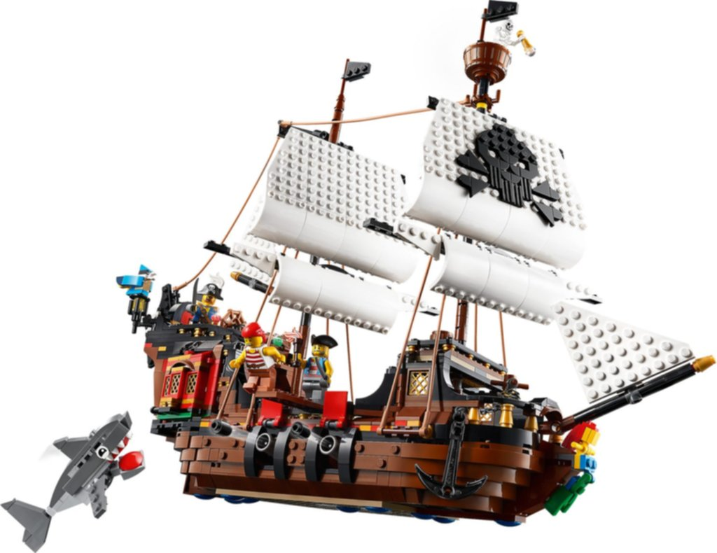 LEGO® Creator Pirates Ship gameplay