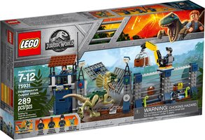 LEGO® Jurassic World Dilophosaurus Outpost Attack