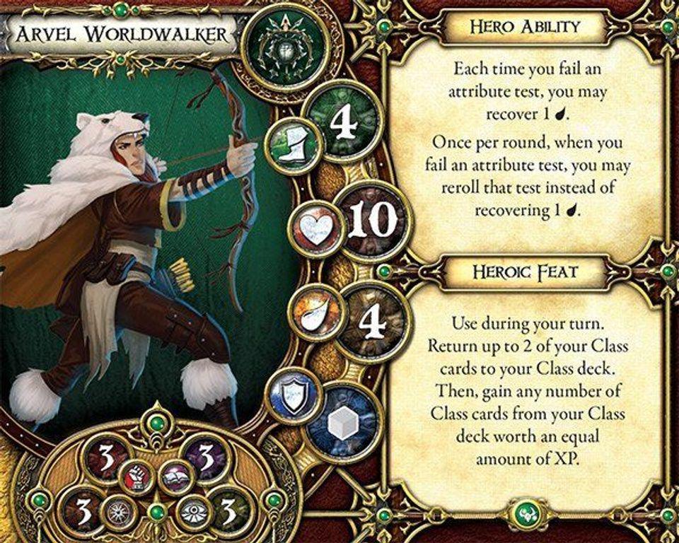 Descent: Journeys in the Dark (Second Edition) - Shards of Everdark cards