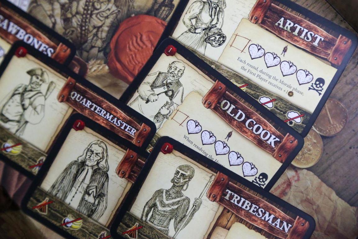 Robinson Crusoe: Adventures on the Cursed Island – Treasure Chest cards