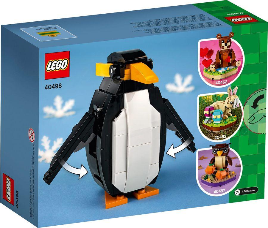 Christmas Penguin back of the box