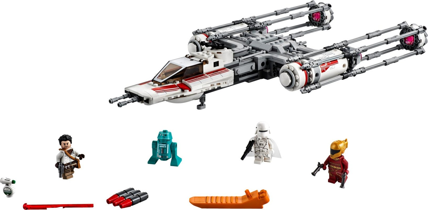 Resistance Y-Wing Starfighter™ components