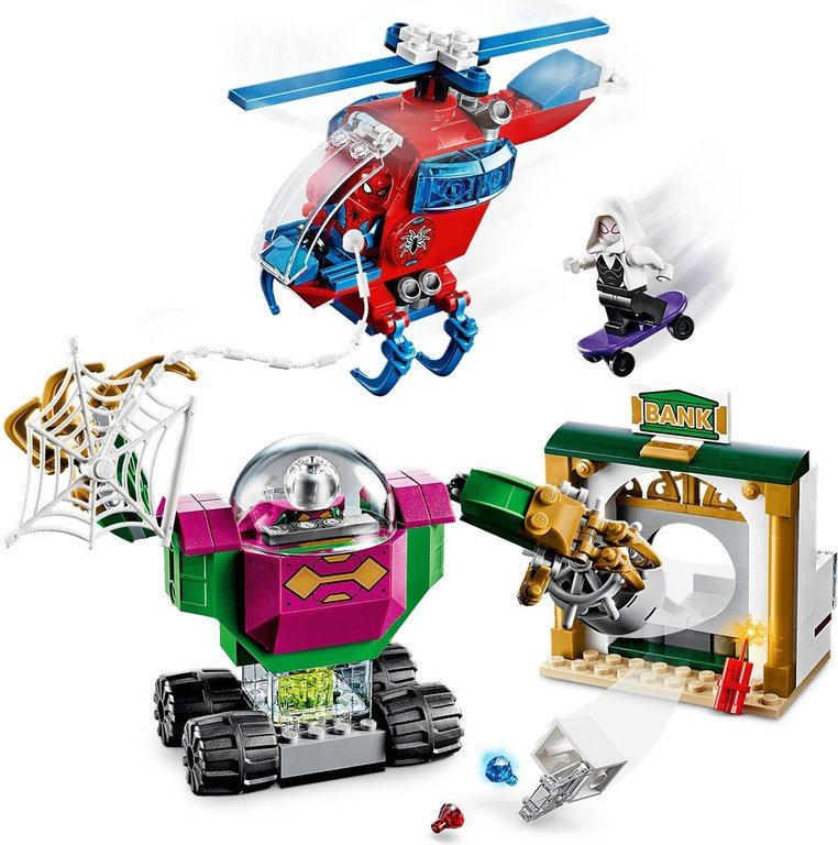 LEGO® Marvel The Menace   of Mysterio components
