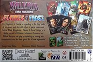 Valeria: Card Kingdoms - Flames and Frost back of the box