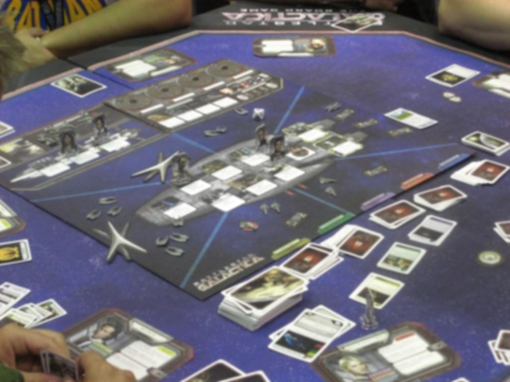 Battlestar Galactica gameplay