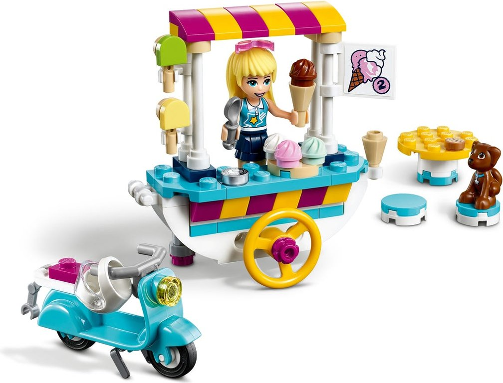 LEGO® Friends Ice Cream Cart gameplay