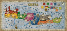 Concordia: Aegyptus / Creta game board