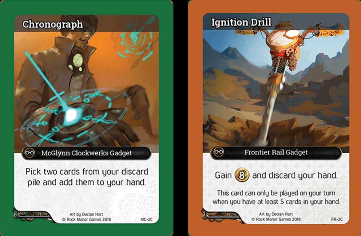 Brass Empire: New Canton cards