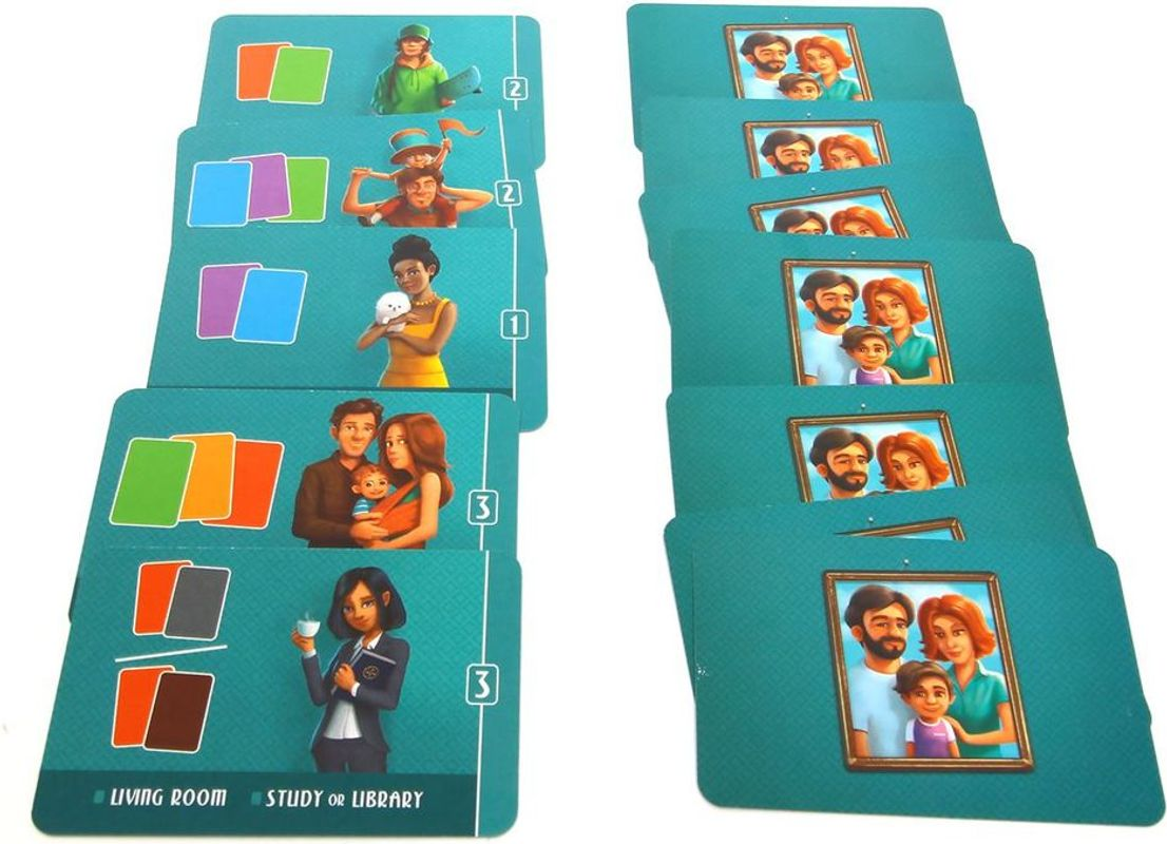 Dream Home: 156 Sunny Street cards