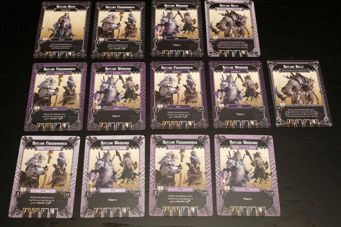 Massive Darkness: Monster-Set – Rattlinge karten