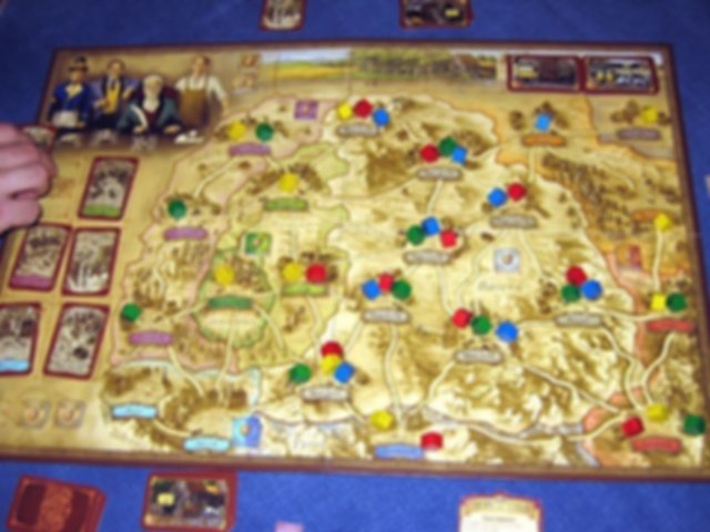 Thurn and Taxis gameplay