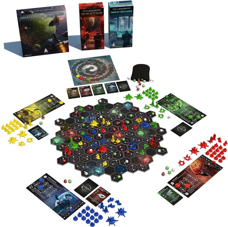 Small Star Empires components