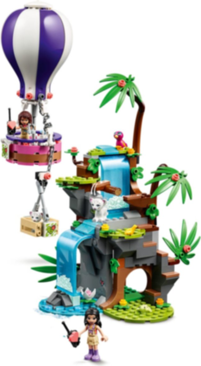 LEGO® Friends Tiger Hot Air Balloon Jungle Rescue gameplay