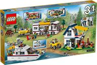 LEGO® Creator Vacation Getaways back of the box