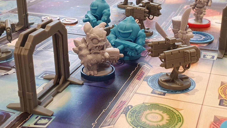 Starcadia Quest miniatures