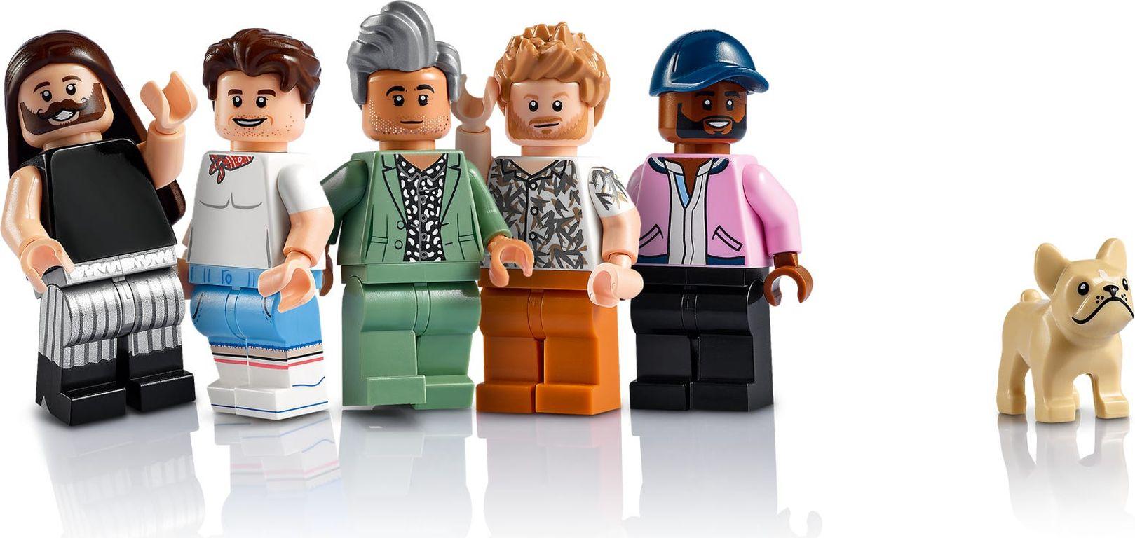 LEGO® Creator Expert Queer Eye – The Fab 5 Loft minifigures