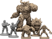 DOOM: The Board Game miniatures