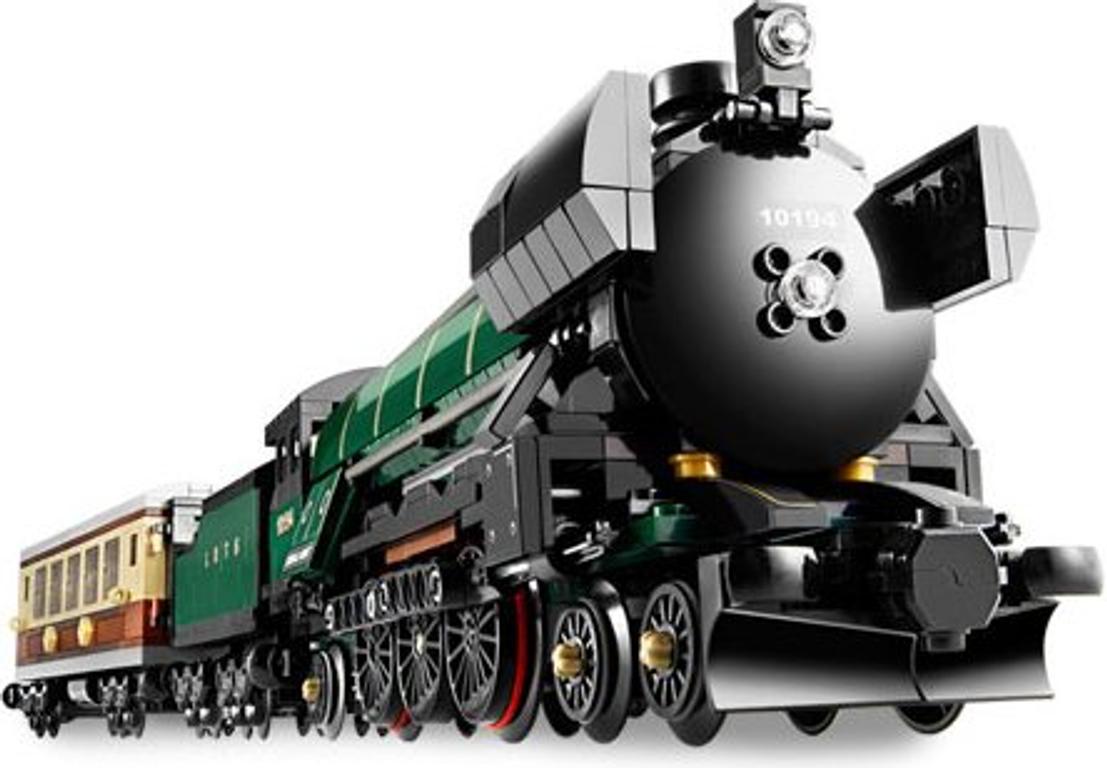 LEGO® Emerald Night Train components