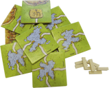 Carcassonne: The Ferries components