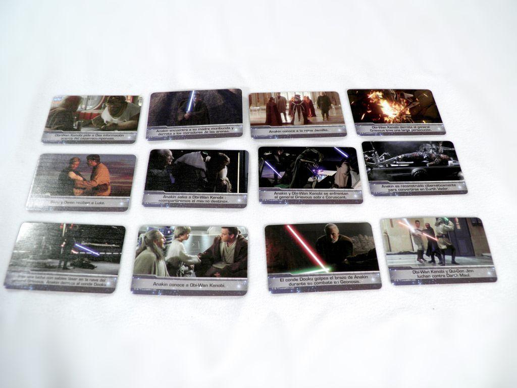 Timeline: Star Wars cards