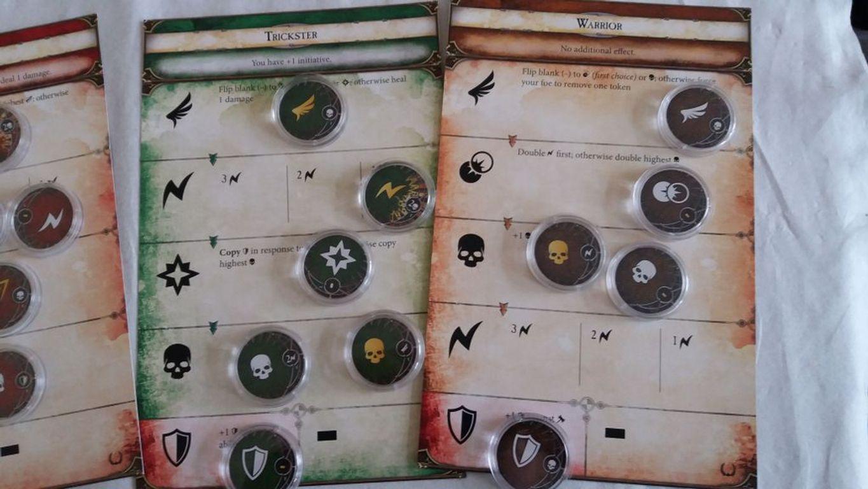 Runebound (Third Edition): Unbreakable Bonds components