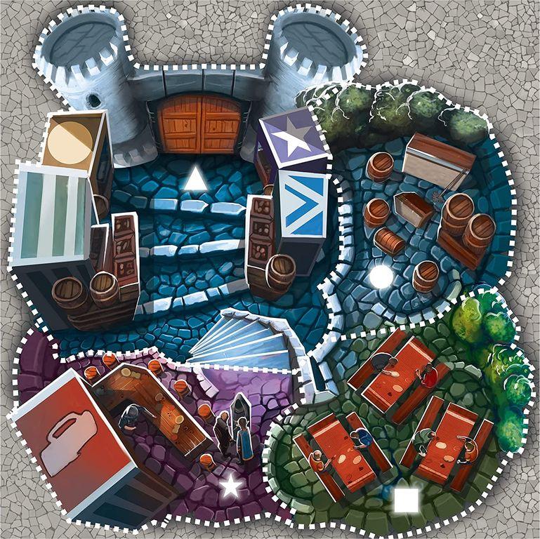 Bar Barians game board