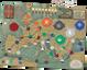 Pandemic: Fall of Rome game board
