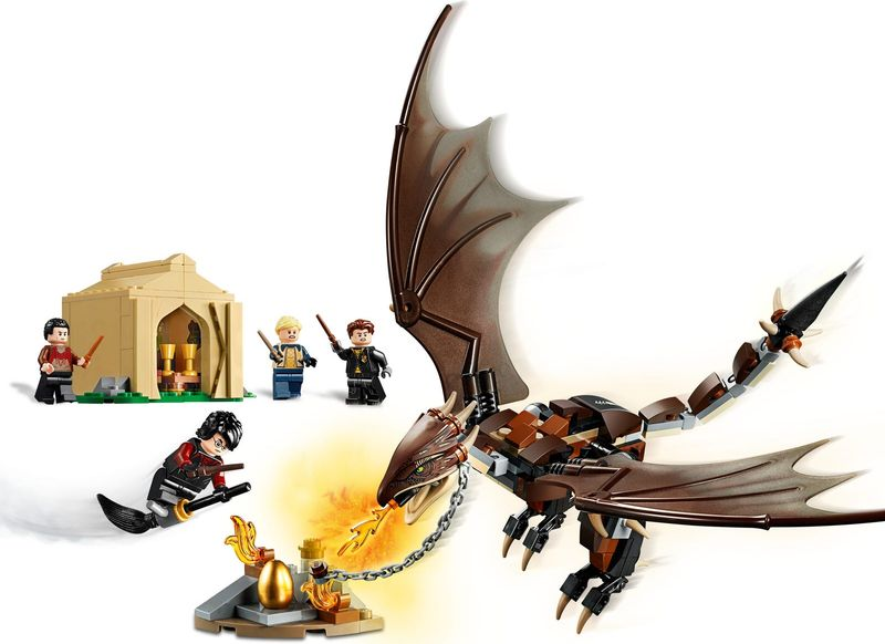 LEGO® Harry Potter Hungarian Horntail Triwizard Challenge gameplay