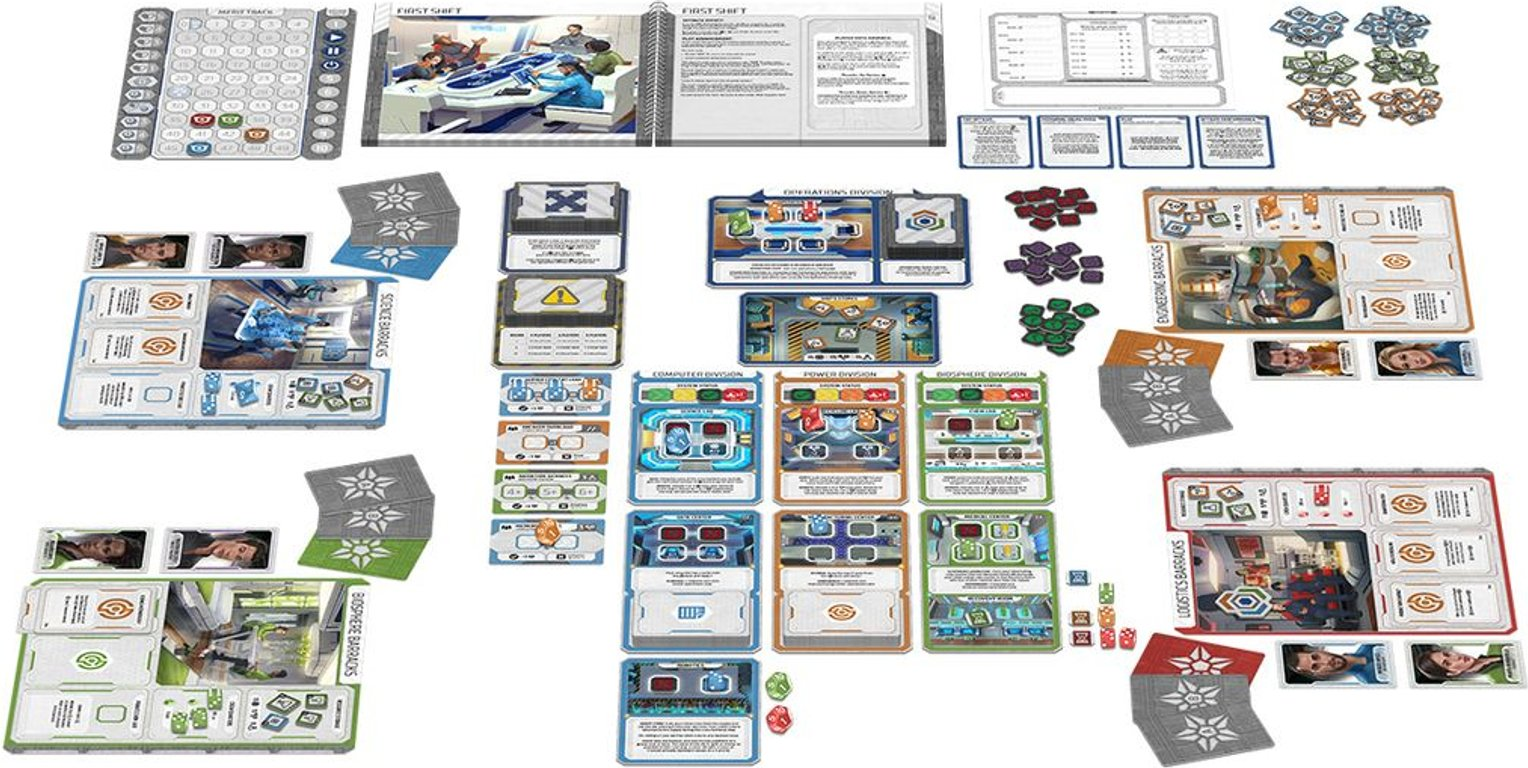 Gen7: A Crossroads Game components