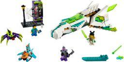 LEGO® Monkie Kid White Dragon Horse Jet components