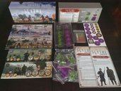 Scythe: Invaders from Afar components