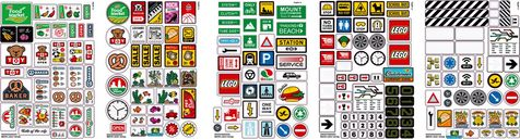 Brick Stickers stickers