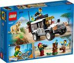 LEGO® City Safari Off-Roader back of the box