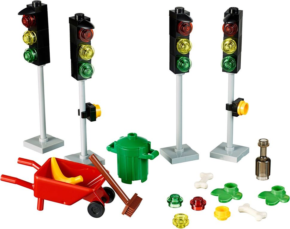 LEGO® Xtra Traffic Lights components