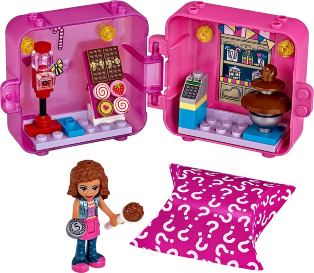 LEGO® Friends Olivia's Shopping Play Cube components