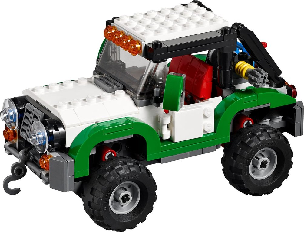 LEGO® Creator Expert Adventure Vehicles components