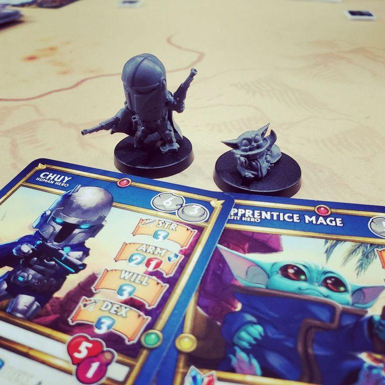 Super Dungeon Explore components