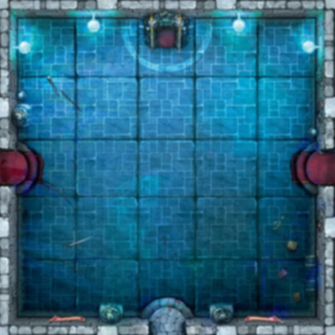 Dungeon Alliance: Champions game board