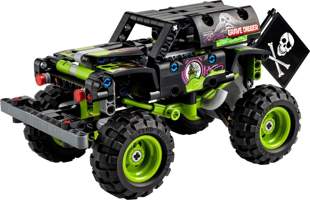 Monster Jam®  Grave Digger® components