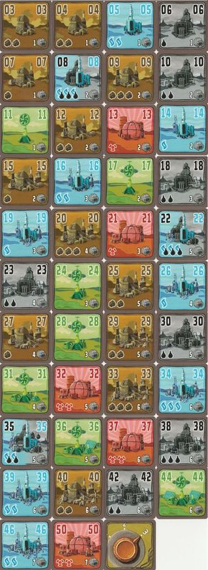 Power Grid deluxe: Europe/North America cards