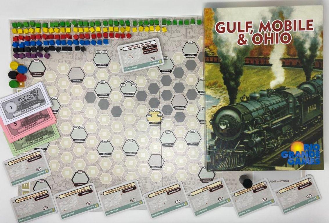 Gulf, Mobile & Ohio components