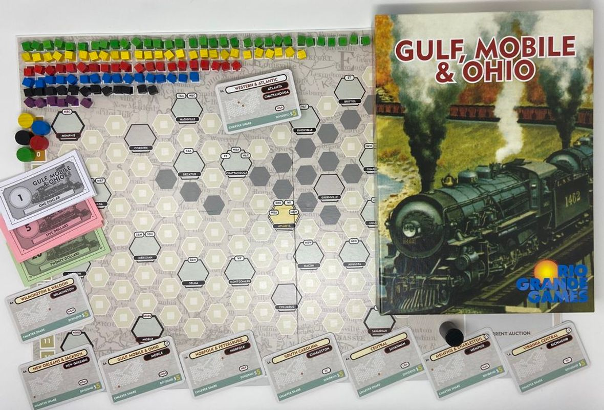 Gulf, Mobile & Ohio components