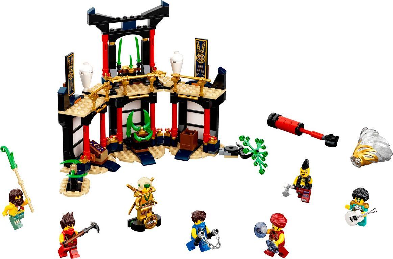 LEGO® Ninjago Tournament of Elements components