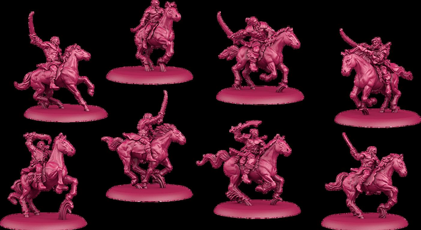 A Song of Ice & Fire: Tabletop Miniatures Game – Targaryen Starter Set miniatures