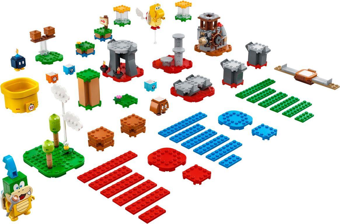 LEGO® Super Mario™ Master Your Adventure Maker Set components