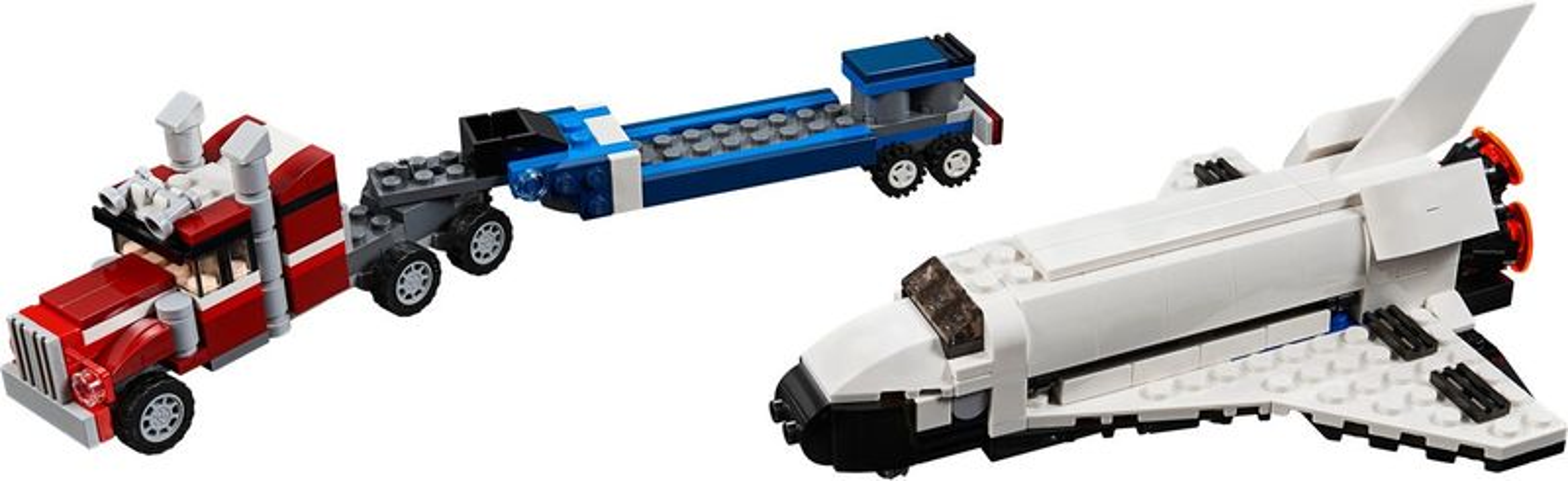LEGO® Creator Shuttle Transporter components