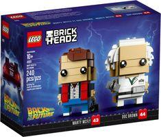 LEGO® BrickHeadz™ Marty McFly & Doc Brown